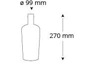 Cristallo-groszer-weinflasche-masse
