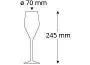 Champagnerglas_Cristallo_Nobless_Champagne_Masse