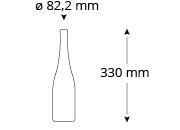 cristallo-rainer-wess-weinflasche-masse