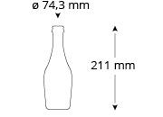 cristallo-zwettler-bierflasche-masse
