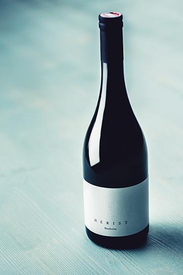 herist-burgunderflasche
