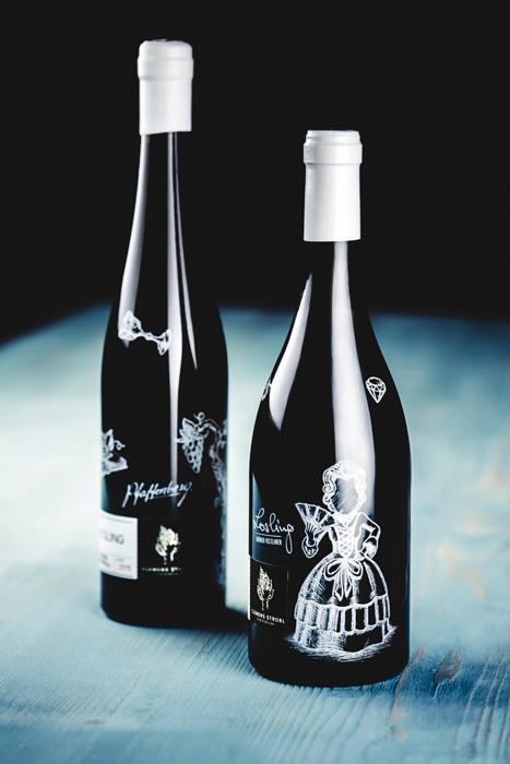 Weinmanufaktur-Strobl-Weinflaschen