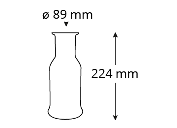 Abmessungen-P200-purity-carafe-500ml