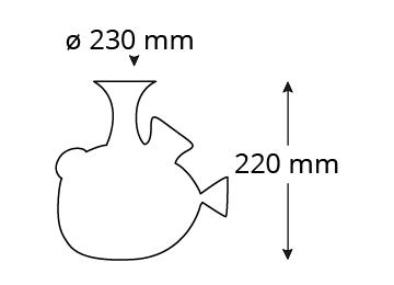 Abmessungen-P200D-piuma-decanter-cardinale
