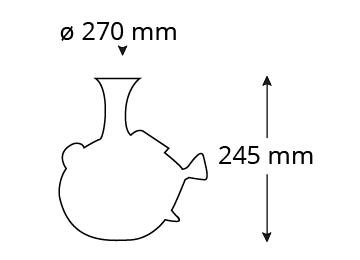 Abmessungen-P300D-piuma-decanter-fish-dory